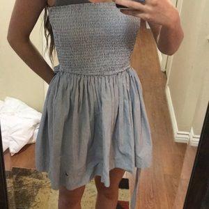 Dresses - Hollister strapless dress